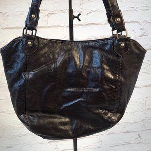 Latico leather shoulder bag! Brown.